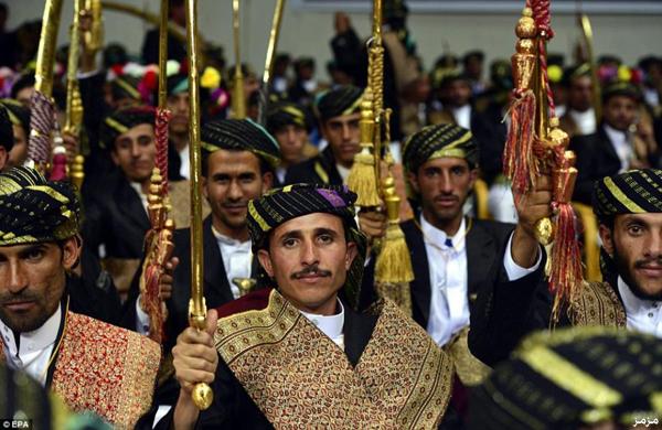 نتيجة بحث الصور عن عرس جماعي في اليمن